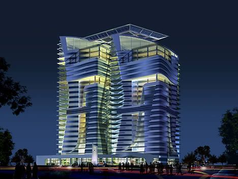 Abu Dhabi's Twin Eco Towers are LEED Platinum