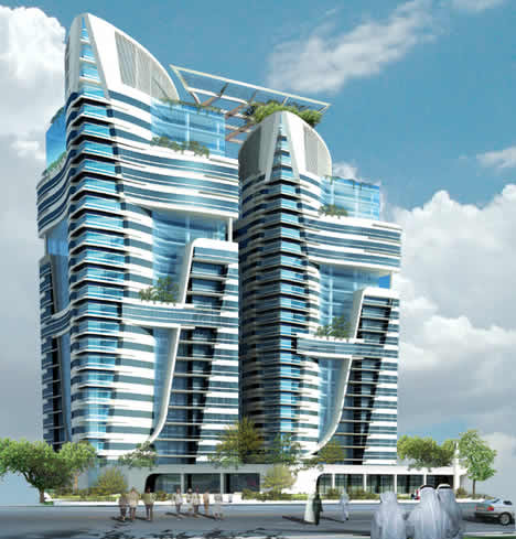 Abu Dhabis Twin Eco Towers Are Leed on luxury interior bathroom design