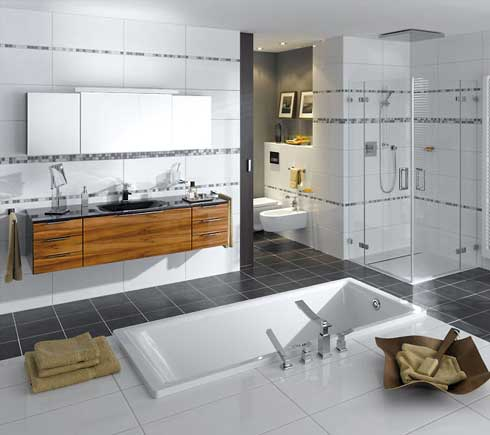 Stylish Bathroom Luxurious Decoration