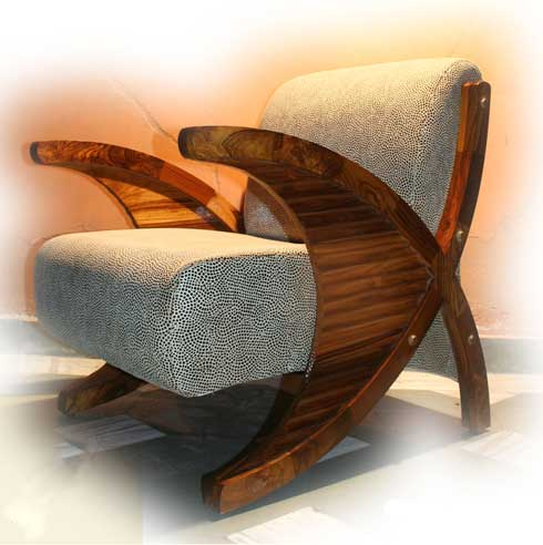 The Fish Tail Chair by Asad Firdosy