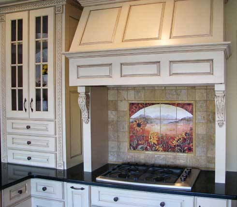 French Country Kitchen Backsplash love my home: kitchen backsplash idea