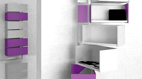 Giralot Storage System: Swivel Around for Space