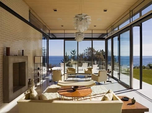 oceanfront estate in montauk 4 Oceanfront Estate: Tranquil Retreat   Away From the City Glitz