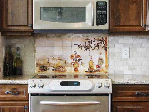 Olive Garden Kitchen Backsplash