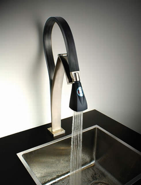 Futuristic hybrid Faucet from Paini: Bendy and Trendy!