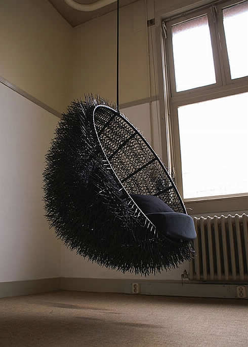 Sea-Urchin, the Amazing Hand-Made Chair