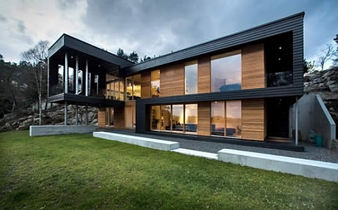 House Home Designs: Villa Storingavika in Norway, a Stunning View