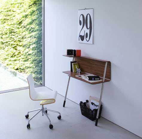 wallflowerdesk2 Small Space Office Table by Jonas & Jonas