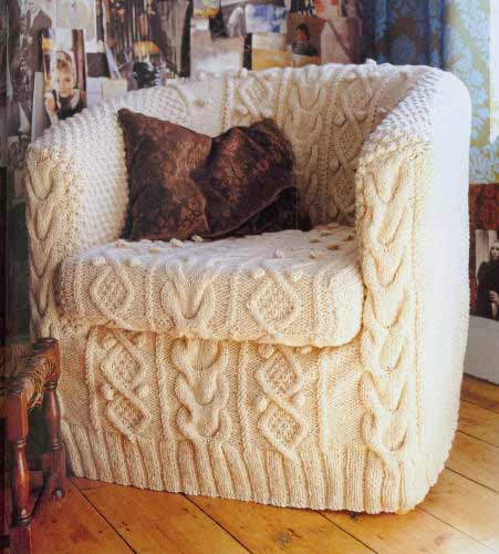 Knitted Slipcover : Hot or Not ?