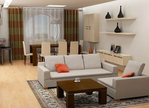 Interior Design Ideas Living Room on Modern Interior Decoration Ideas  Small Living Room Ideas