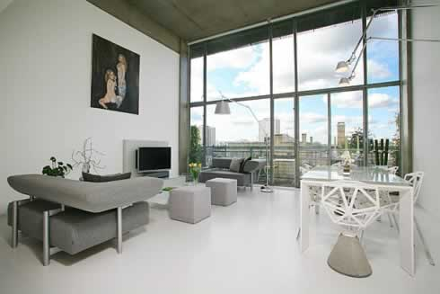 loft apartment in london by urban spaces 1 Loft Apartment in London by Urban Spaces