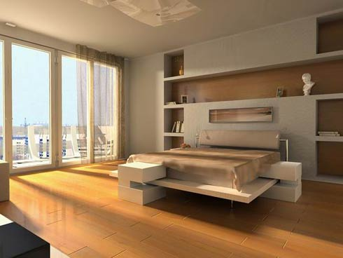 Apartment with Modern Bedroom Ideas