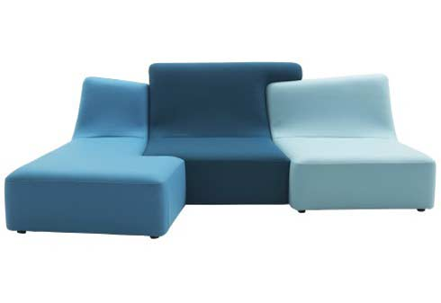 Confluence Seating System by Philippe Nigro