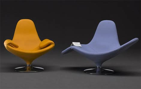 domodinamica chair calla Calla Chairm the Chair that can be   Transformed in a Chaise Lounge