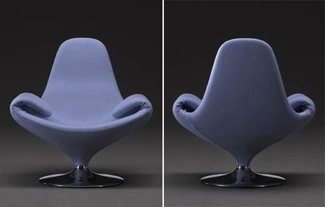 domodinamica chair calla2 Calla Chairm the Chair that can be   Transformed in a Chaise Lounge