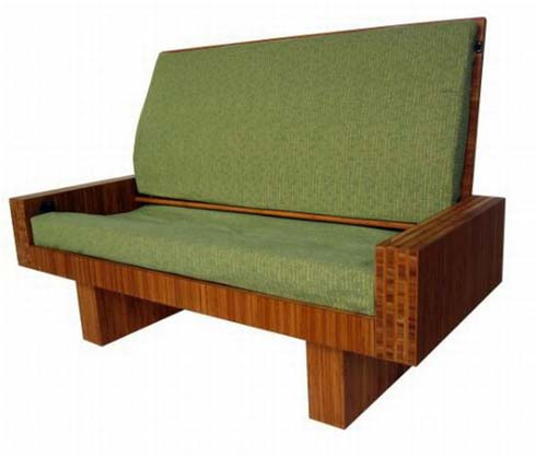 Coffee table that can turn into a love seat