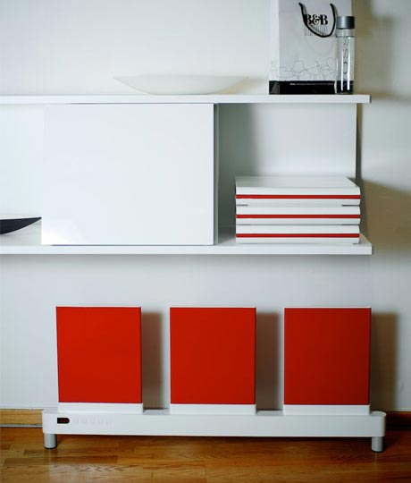 Contemporary Heater designed by Red Rabbits