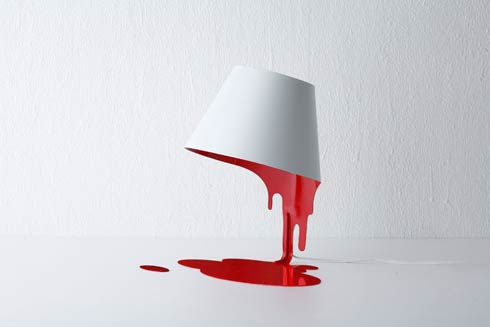 Liquid Lamp : Appears to have no stand