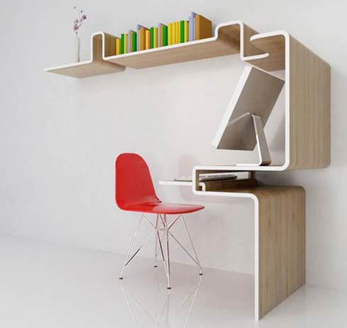 Small Home Office Idea : K Workstation
