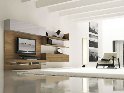 modern living room3 Ultra modern Living Rooms by Presotto Italia