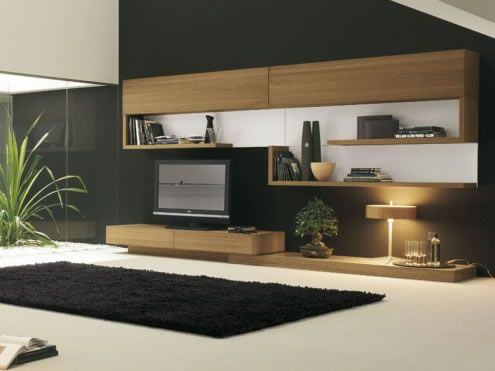 modern living room4 Ultra modern Living Rooms by Presotto Italia