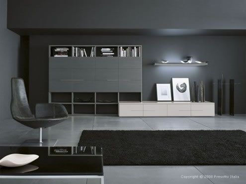 modern living room5 Ultra modern Living Rooms by Presotto Italia