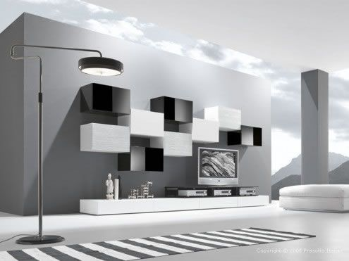 modern living room7 Ultra modern Living Rooms by Presotto Italia