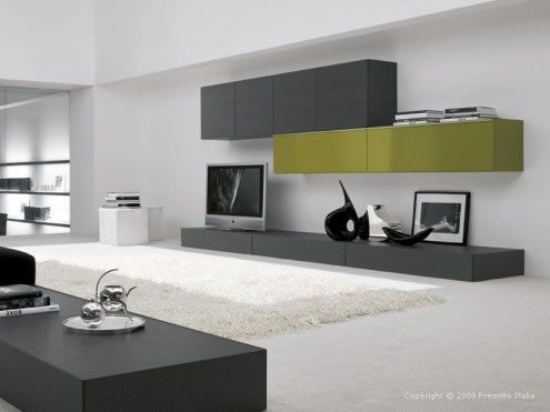 modern living room8 Ultra modern Living Rooms by Presotto Italia