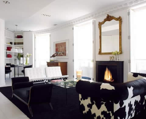 blanco y negro 2 Black and White: Classic style integrated with  contemporary design