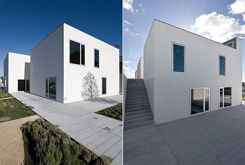 house pousos portugal bak gordon architect3 Ultra minimalist Home  in Pousos, Straight Lines and Sleek Form