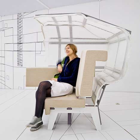 "prooff ear chair makkink bey 2 Modular Freedom with the PROOF's  ""Work Sofa"""