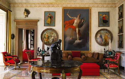 sothebys gianni versace villa 6 The house of Versace: Neo  classical Art Brilliance