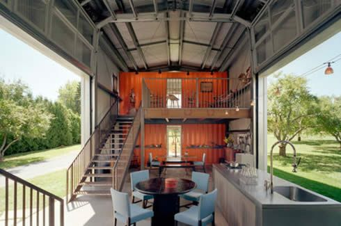 The modern mariner: Crafting a dazzling home from old shipping containers