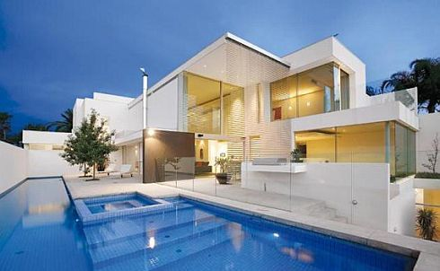 Brighton House: Lavish Melbourne home with plenty of glass and class