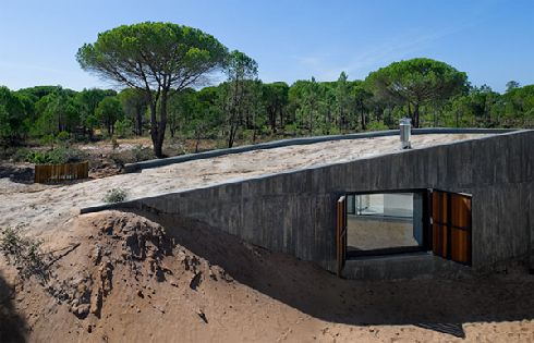 casa monte na comporta 1 Custom Sand Job: Casa Monte na Comporta in Portugal