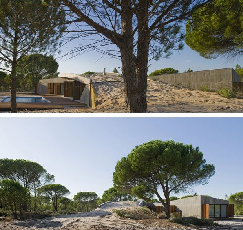 casa monte na comporta 3 Custom Sand Job: Casa Monte na Comporta in Portugal