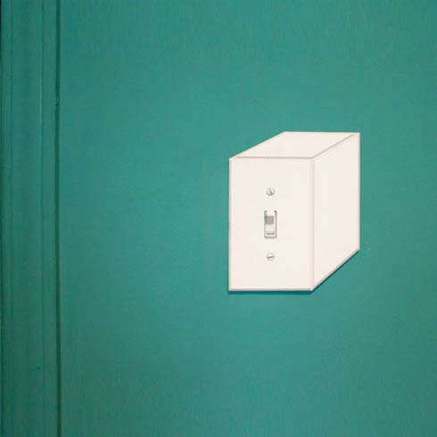 Create an Optical Illusion in Your Home : Cube Switchplates