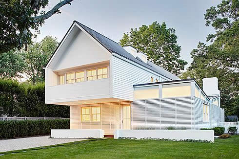 Fiery on the outside: Modern home from Bates Masi Architects