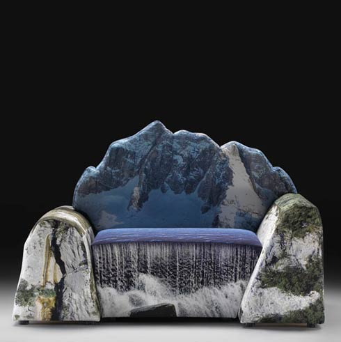 mountain couch montanara couch by gaetano pesce