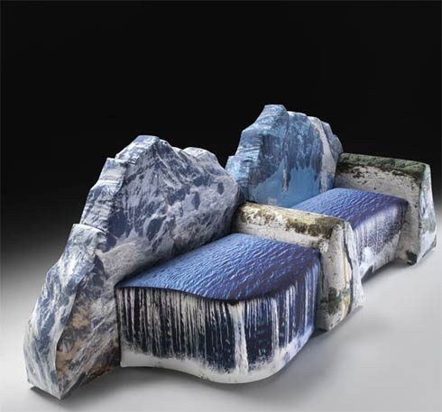 mountain couch2 montanara couch by gaetano pesce