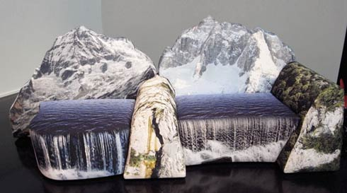 mountain couch3 montanara couch by gaetano pesce