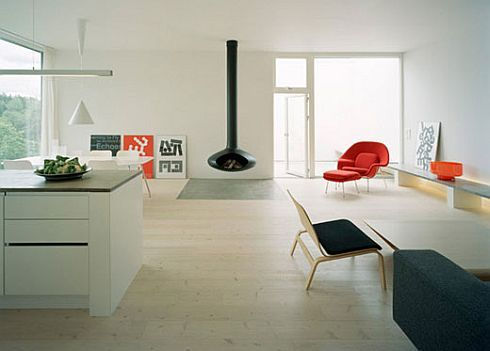 no5 house sweden 4 No.5 House: Stylish minimalist home in the heart of Sweden
