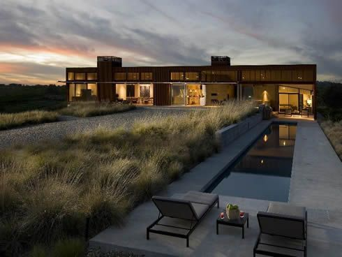 Contemporary Residence in Santa Ynez Valley, USA