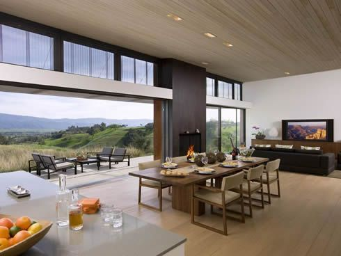 santa ynez valley residence 2 Contemporary Residence in Santa Ynez Valley, USA