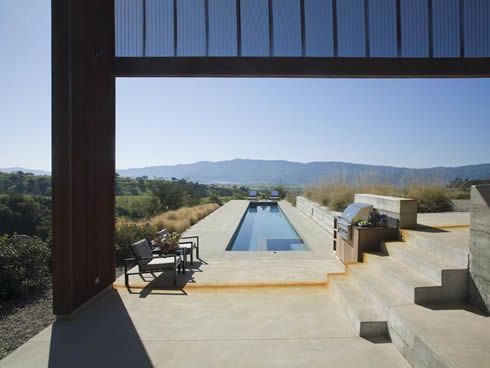 santa ynez valley residence 8 Contemporary Residence in Santa Ynez Valley, USA
