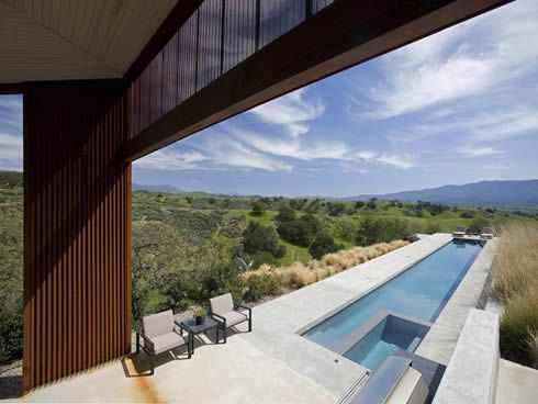 santa ynez valley residence 9 Contemporary Residence in Santa Ynez Valley, USA
