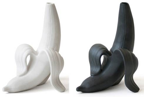 bananavase1 Creative Banana Vase from Jonathan Adler