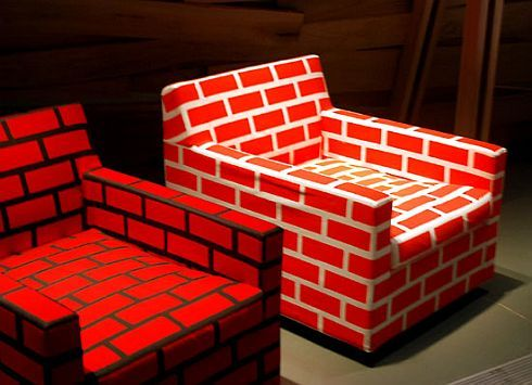 bricks and mortar sofa and chair 2 Bricks & Mortar Sofa and  Chair