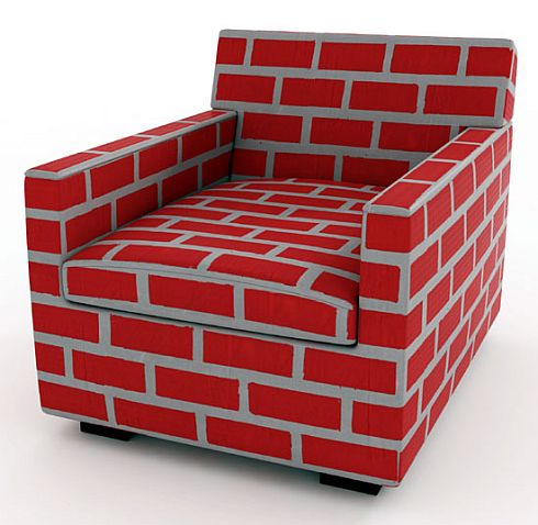 bricks and mortar sofa and chair 5 Bricks & Mortar Sofa and  Chair