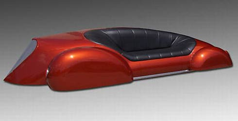 eBay Auction for Car Couch Sculpture